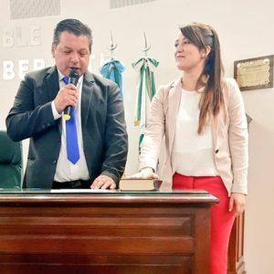 Sol Jimenez Coronel jura como primera concejal de Malvinas Argentinas