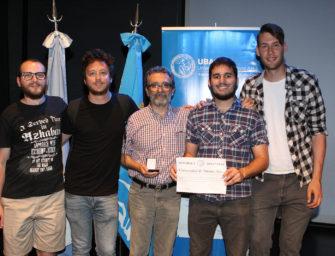 1º mención en Premios UBA 2018