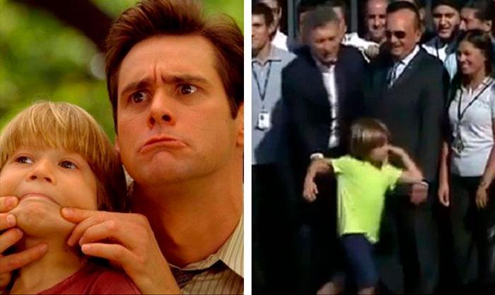 Jim Carrey predijo a Macri